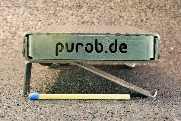 Seitenansicht von Purob